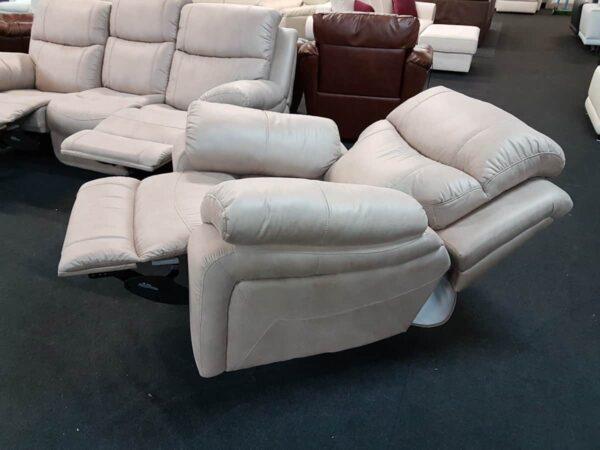 Harrier 3+2+1 kanapé - TV fotel manuális relax - Season Sand 752