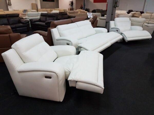 Softaly U 108 relax 3-1-1 bőr ülőgarnitúra