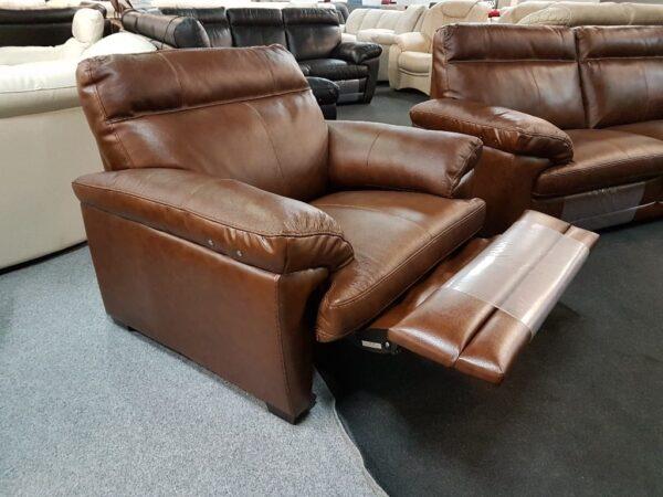 Softaly U074 3+2+1 relax bőr kanapé 4