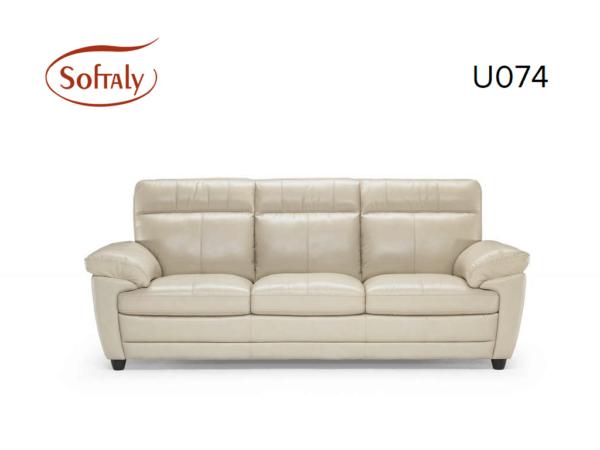 Softaly U074 3+2+1 relax bőr kanapé 13