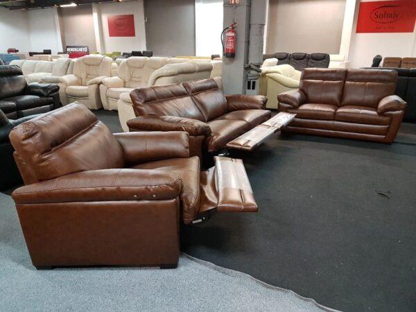 Softaly U 074 bőr 3-2-1 relax ülőgarnitúra 14