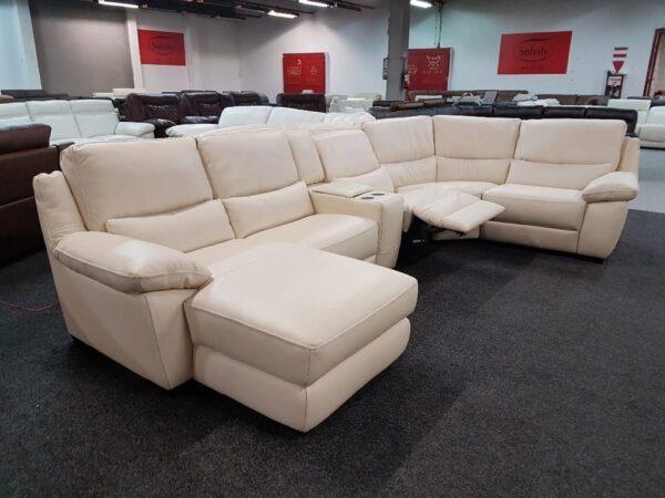 Softaly U 214 relax - Prémium bőr ülőgarnitúra 10
