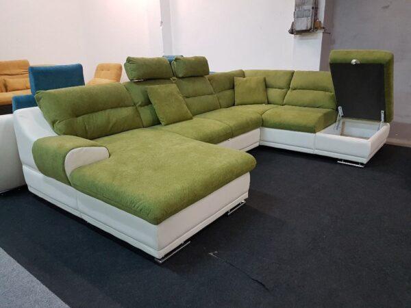 Cosmo U alakú ülőgarnitúra 8