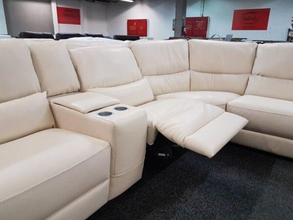 Softaly U 214 relax - Prémium bőr ülőgarnitúra 15