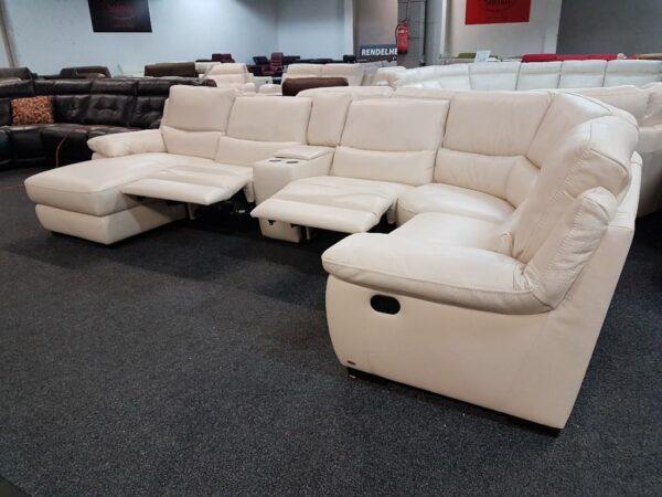Softaly U 214 relax - Prémium bőr ülőgarnitúra 14