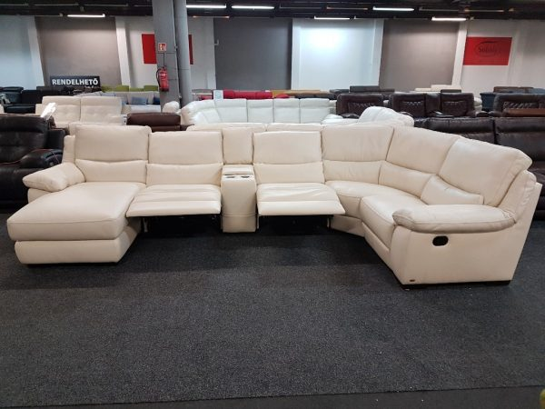 Softaly U 214 relax - Prémium bőr ülőgarnitúra 12