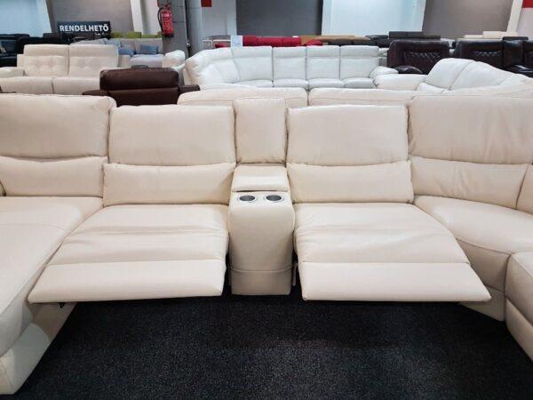 Softaly U 214 relax - Prémium bőr ülőgarnitúra 13