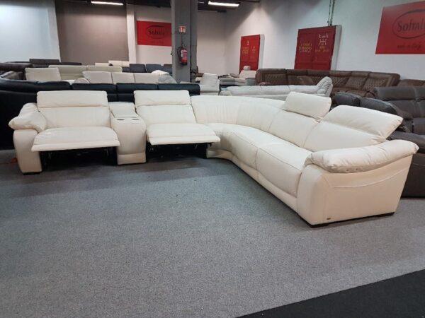 Softaly U 076 relax bőr ülőgarnitúra - sarok 2