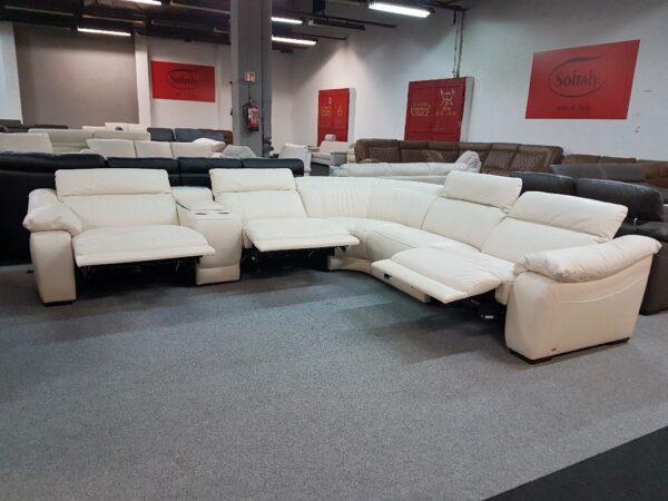 Softaly U 076 relax bőr ülőgarnitúra - sarok 1