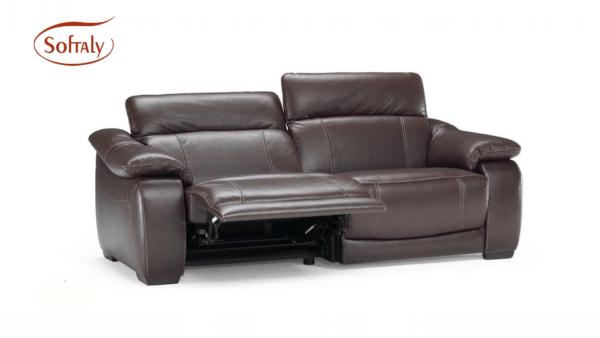 Softaly U 076 bőr ülőgarnitúra relax 11