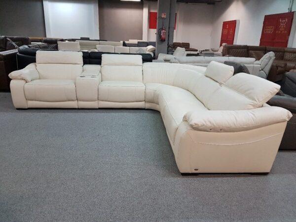 Softaly U 076 relax bőr ülőgarnitúra - sarok 8