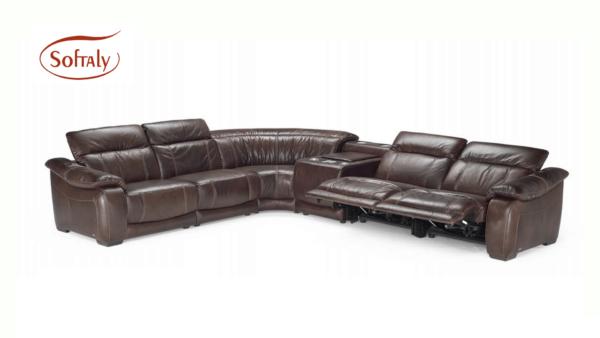 Softaly U 076 relax bőr ülőgarnitúra - sarok 12