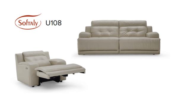 Softaly U 108 bőr ülőgarnitúra - Relax 5