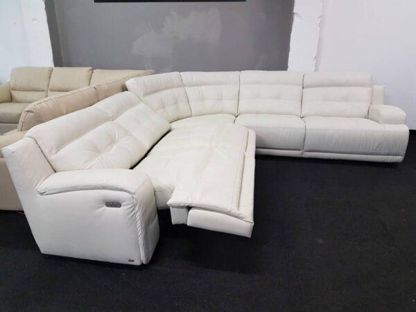 Softaly U108 relax bőr ülőgarnitúra
