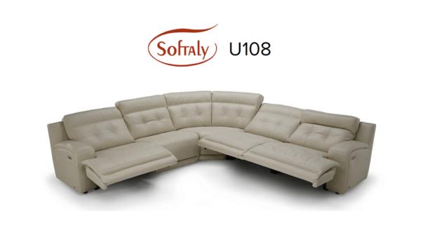 Softaly U 108 bőr ülőgarnitúra - Relax 4