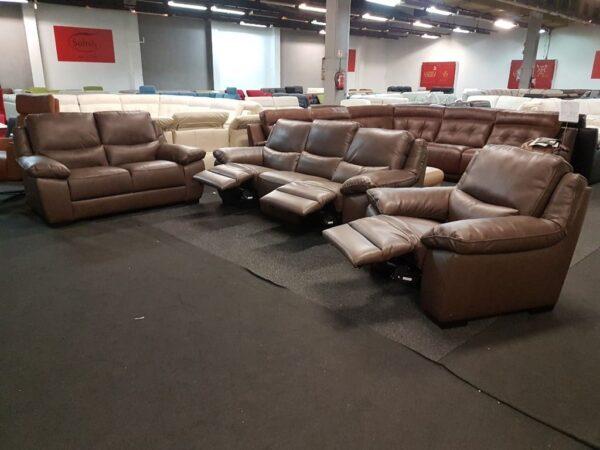 Softaly U 214 3+2+1 relax bőr kanapé 2