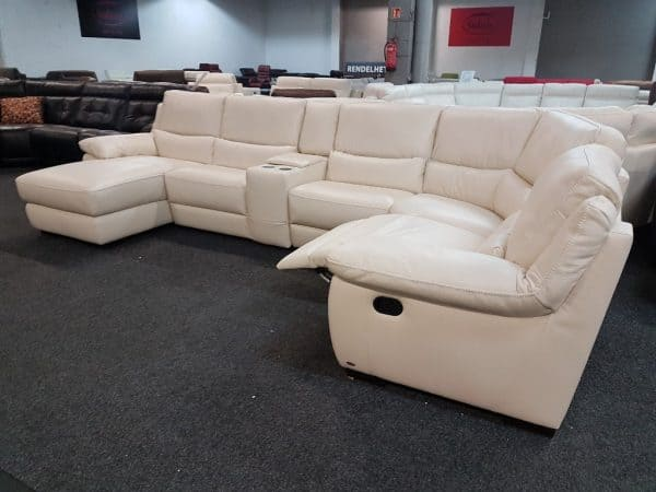 Softaly U 214 relax - Prémium bőr ülőgarnitúra 3