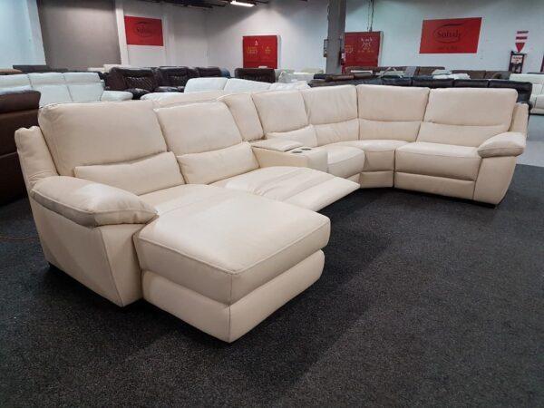 Softaly U 214 relax - Prémium bőr ülőgarnitúra 9