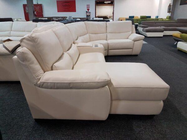 Softaly U 214 relax - Prémium bőr ülőgarnitúra 7