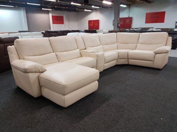 Softaly U 214 relax - Prémium bőr ülőgarnitúra 8