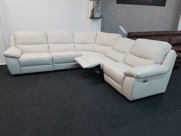 Softaly U 214 bőr ülőgarnitúra - Relax sarok 2