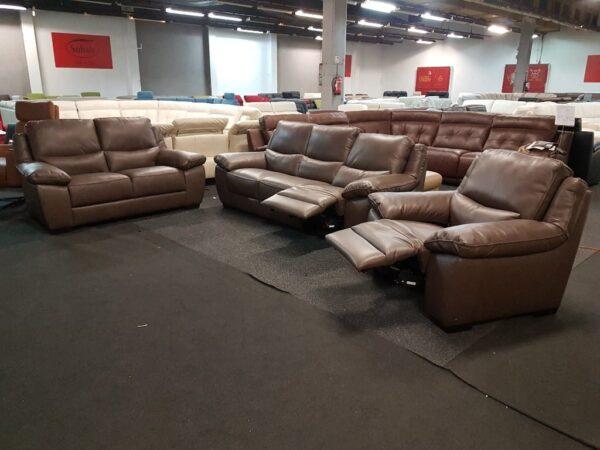 Softaly U 214 3+2+1 relax bőr kanapé 1