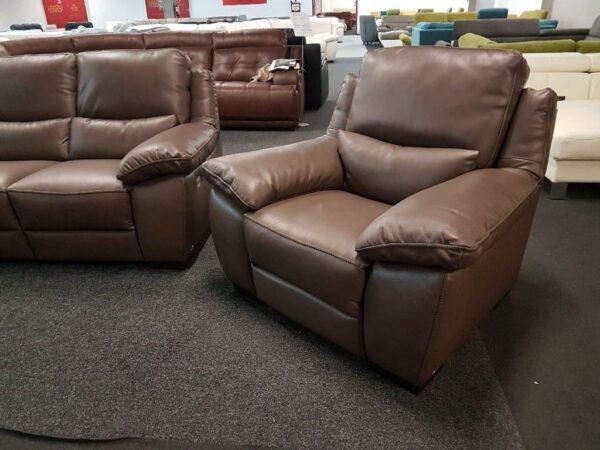 Softaly U 214 3+2+1 relax bőr kanapé 8