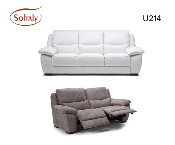 Softaly U 214 relax - Prémium bőr ülőgarnitúra 19