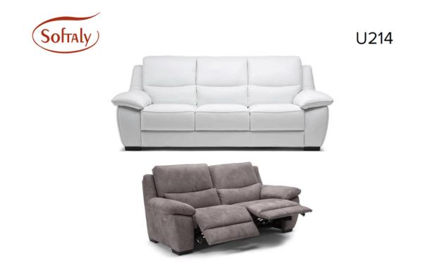 Softaly U 214 3+2+1 relax bőr kanapé 18