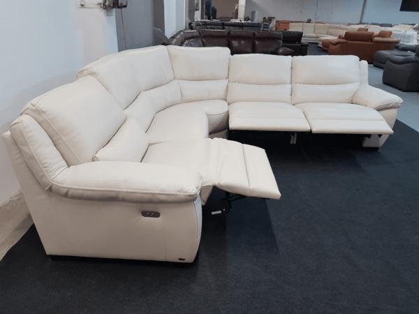 Softaly U 214 bőr ülőgarnitúra - Relax sarok 4