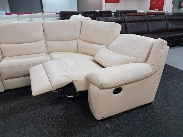 Softaly U 214 relax - Prémium bőr ülőgarnitúra 5
