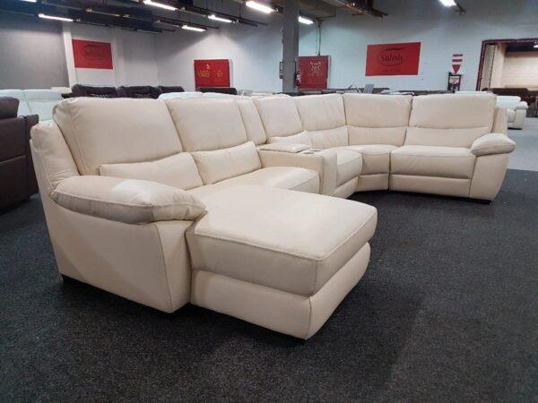 Softaly U 214 relax - Prémium bőr ülőgarnitúra 1