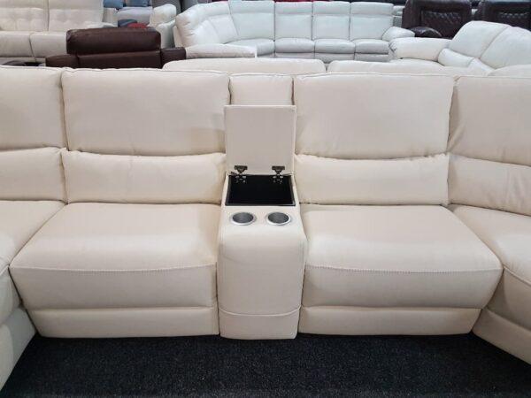 Softaly U 214 relax - Prémium bőr ülőgarnitúra 17