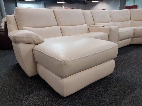 Softaly U 214 relax - Prémium bőr ülőgarnitúra 6