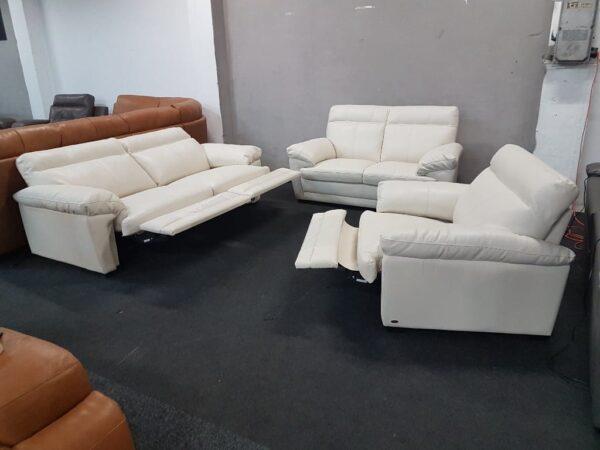 Softaly U 074 bőr 3-2-1 relax ülőgarnitúra 3