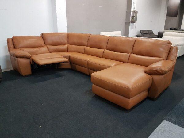Softaly U 214 prémium bőr ülőgarnitúra - Relax