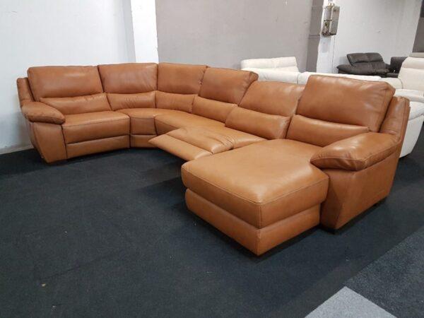 Softaly prémium bőr ülőgarnitúra - U 214 relax