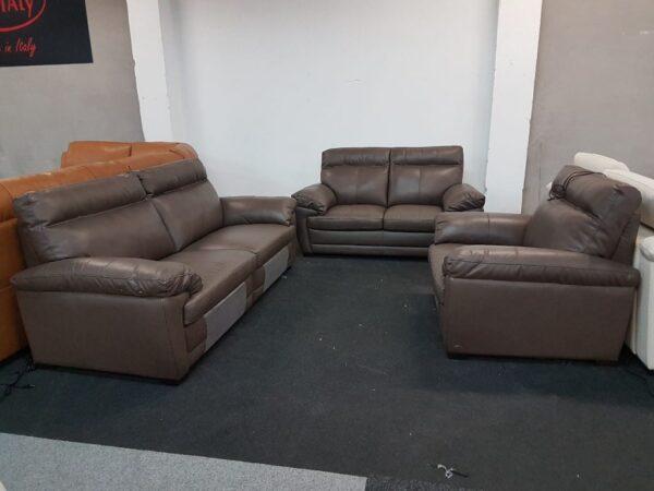 Softaly U074 3+2+1 relax bőr kanapé 12
