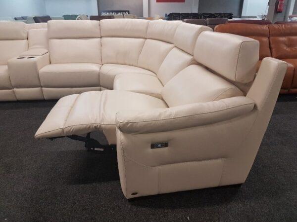 Relax bőr ülőgarnitúra - Softaly U 316