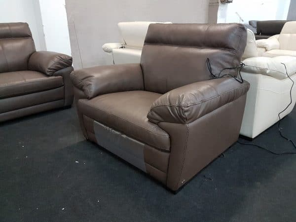 Softaly U074 3+2+1 relax bőr kanapé 14