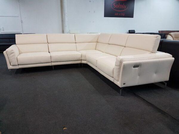 Softaly U 239 bőr relax ülőgarnitúra