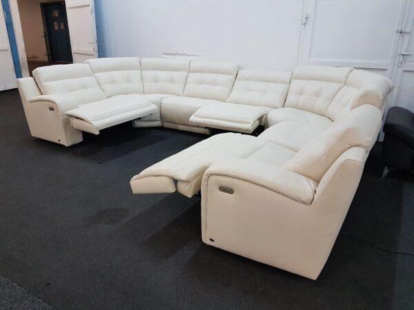 Prémium bőr ülőgarnitúra - Relax - Softaly U 108