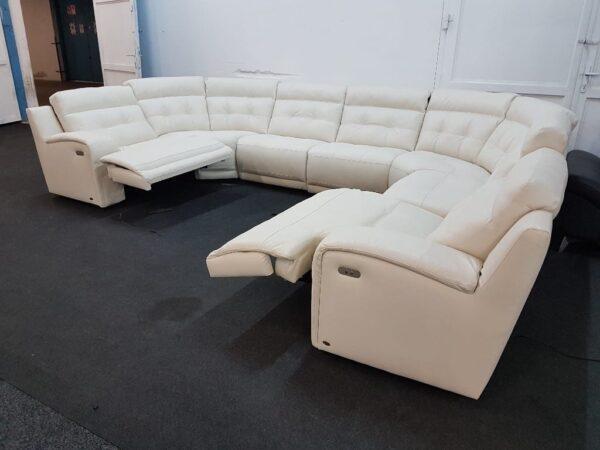 Prémium bőr relax ülőgarnitúra (Softaly 108)