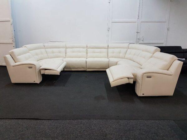 Prémium relax ülőgarnitúra bőr (Softaly 108)