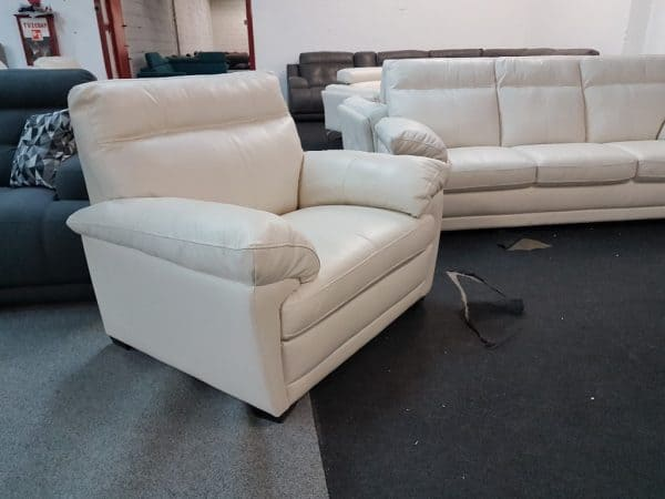 3-2-1 ülőgarnitúra bőr Softaly U 074 4
