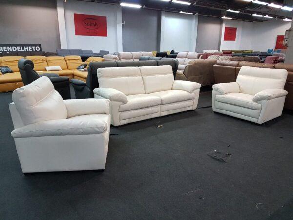 3-1-1 bőr ülőgarnitúra - Softaly U074 relax kanapé