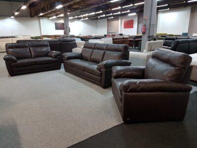 3-2-1 ülőgarnitúra (Softaly 074) 3-2-1 bőr kanapé