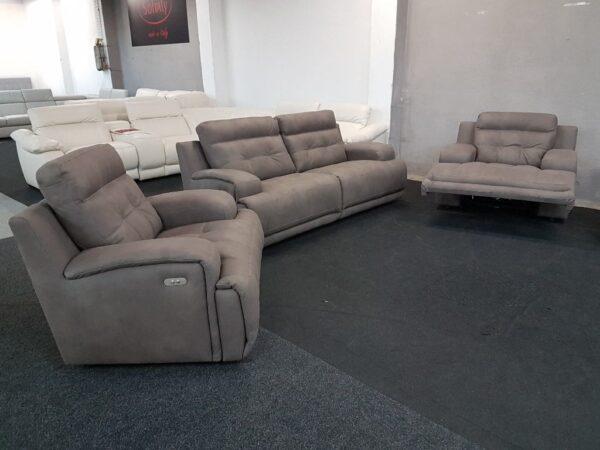 3+1+1 kanapé relax funkciós – Softaly U 108