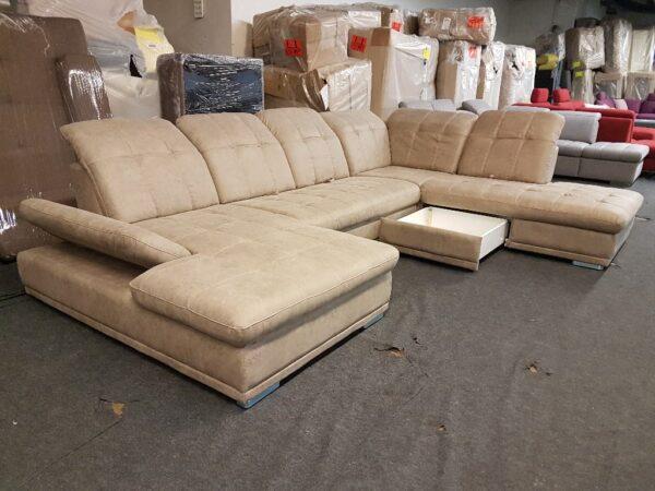 Ágyneműtartós, ágyazható ülőgarnitúra