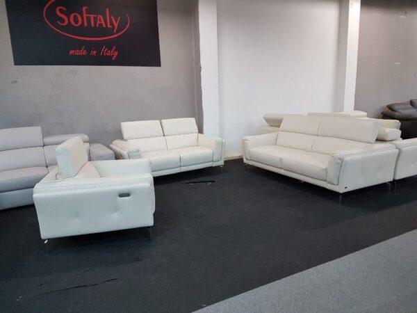 3-2-1 bőr ülőgarnitúra Softaly U 239 Relax 1